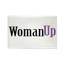 Woman Up Rectangle Magnet