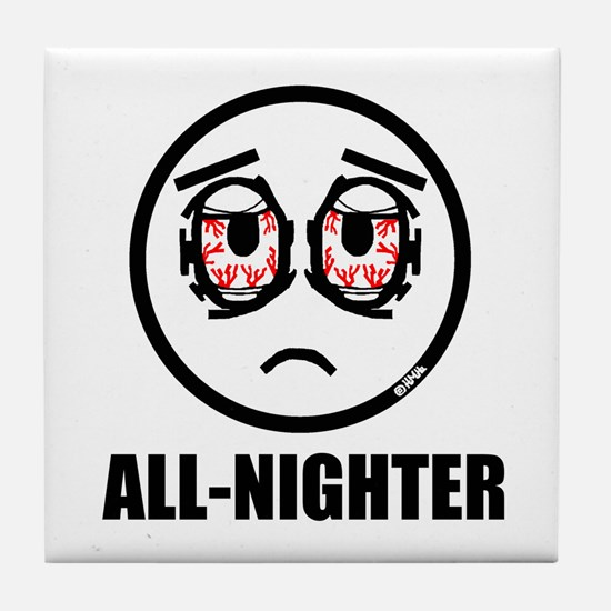 All-nighter Tile Coaster