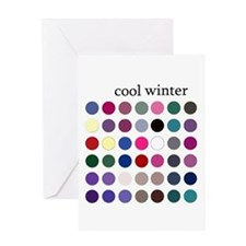 color analysis card cool winter