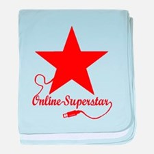 Online superstar baby blanket
