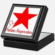 Online superstar Keepsake Box