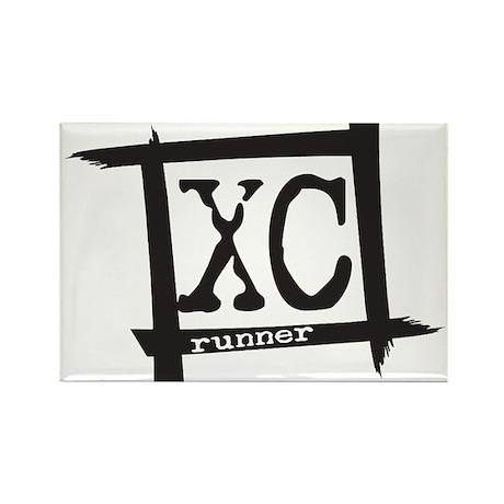 XC Runner Rectangle Magnet (100 pack)