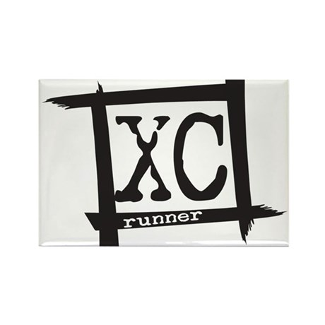 XC Runner Rectangle Magnet