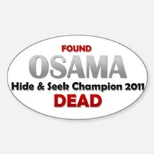 Osama's Dead Decal