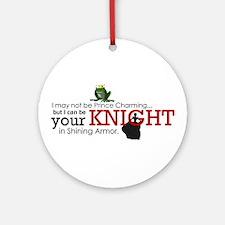 Shining Knight Ornament (Round)