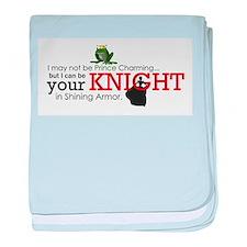 Shining Knight baby blanket