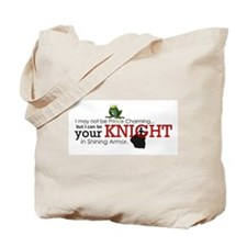 Shining Knight Tote Bag