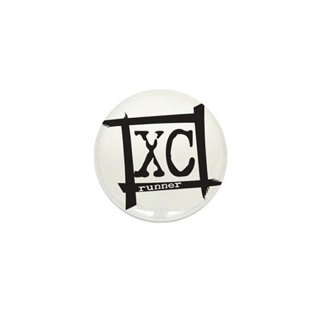 XC Runner Mini Button (10 pack)