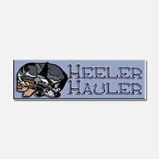 Heeler Hauler - Blue - Car Magnet 10 x 3