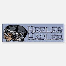 Heeler Hauler - Blue - Bumper Bumper Sticker