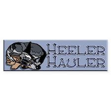 Heeler Hauler - Blue - Bumper Sticker