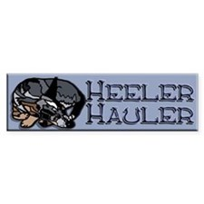 Heeler Hauler - Blue - Car Sticker