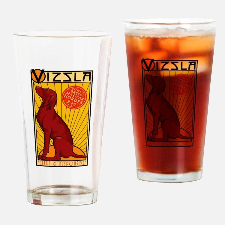 Vizsla One Drinking Glass