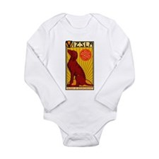 Vizsla One Long Sleeve Infant Bodysuit