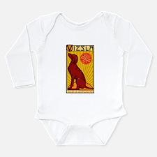 Vizsla One Long Sleeve Infant Bodysuit