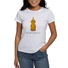 Put some honey on it. Tee