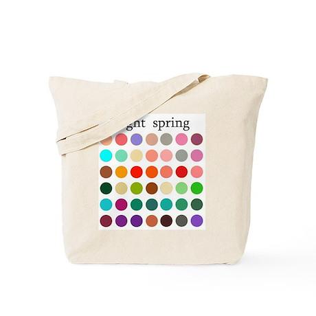 color analysis Tote Bag light spring
