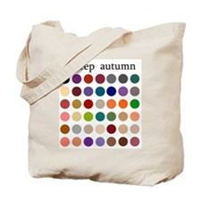 color analysis Tote Bag deep autumn