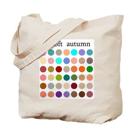 color analysis Tote Bag soft autumn