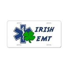 Irish EMT Aluminum License Plate