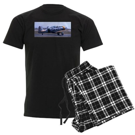 Plane 8 Men's Dark Pajamas