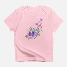 Bright Purple Butterflies Infant T-Shirt
