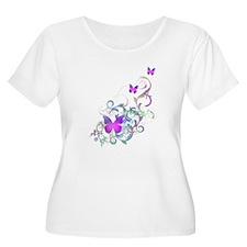 Bright Purple Butterflies T-Shirt