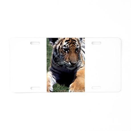 Tiger Cub Aluminum License Plate