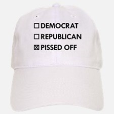 Pissed Off Baseball Baseball Cap