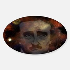 Edgar Allan Poe Sticker (Oval)