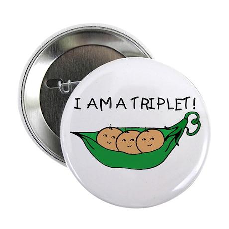 I AM A TRIPLET Button