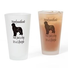 Newfoundlands It's A Lifestly Drinking Glass