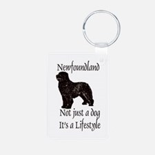 Newfoundlands It's A Lifestly Keychains