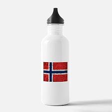 Norway Grunge Water Bottle