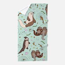 Otters Beach Towel