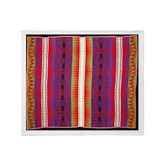 Indian Design-H1bb Throw Blanket