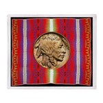 Indian Design-H2ab Throw Blanket
