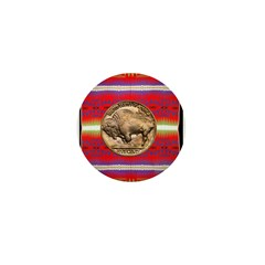 Indian Design-03a Mini Button (10 pack)