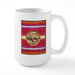 Indian Design-03a Large Mug