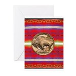 Indian Design-03a Greeting Cards (Pk of 10)