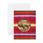 Indian Design-03a Greeting Card