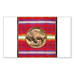 Indian Design-03a Sticker (Rectangle)