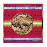 Indian Design-03a Tile Coaster
