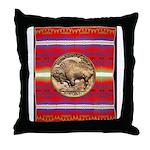 Indian Design-03a Throw Pillow