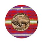 Indian Design-03a Ornament (Round)
