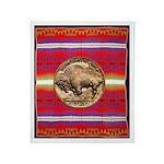 Indian Design-03aa Throw Blanket