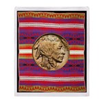 Indian Design-03ab Throw Blanket