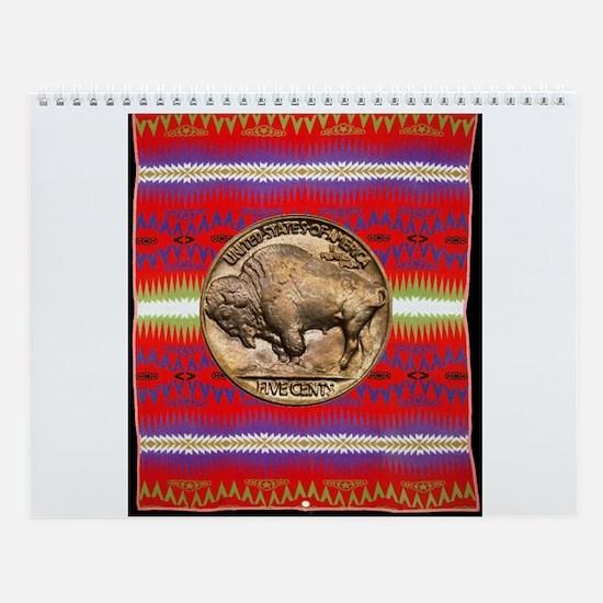 Indian Design-03a Wall Calendar