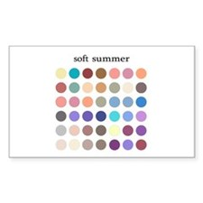 color analysis Sticker soft summer
