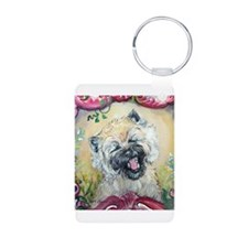 Laughing Cairn Terrier Keychains